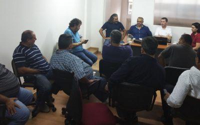 Reunión de trabajo sobre Higiene, Seguridad y Prevención en el trabajo