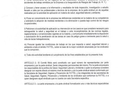 ACTA COMITE MIXTO SALUD SEGURIDAD LABORAL Y AMBIENTE FATTEL TELEFONICA II Septiembre 2019
