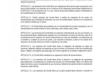 ACTA COMITE MIXTO SALUD SEGURIDAD LABORAL Y AMBIENTE FATTEL TELEFONICA III Septiembre 2019