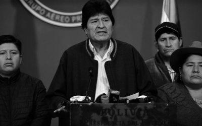 NO AL GOLPE DE ESTADO EN BOLIVIA